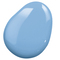 Clever Color Nail Polish CC 9 in 1, Sky Blue Aquarelle