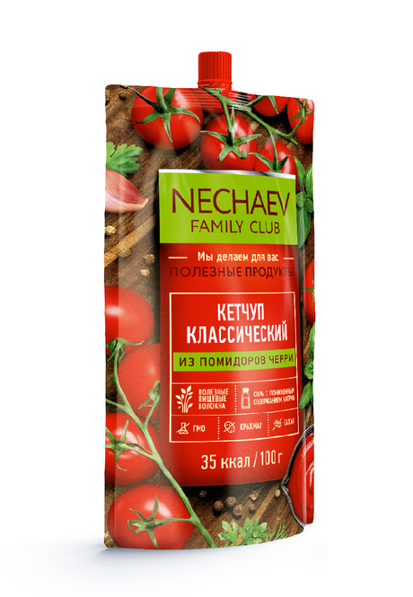 Ketchup, Classic, sugar-free, with dietary fibers